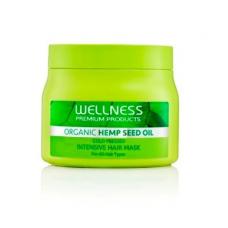 WELLNESS HAIR MASK WITH HEMP 500ML + 4X10ML